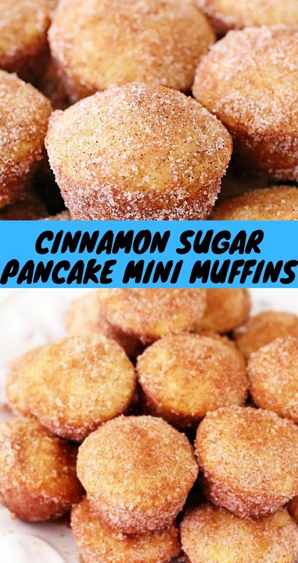 Cinnamon Sugar Pancake Mini Muffins