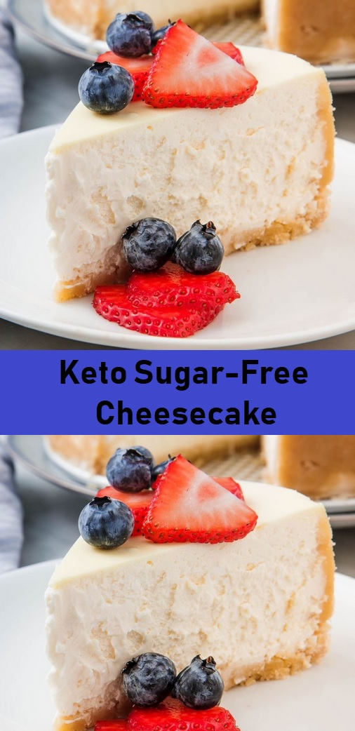 Keto Sugar-Free Cheesecake