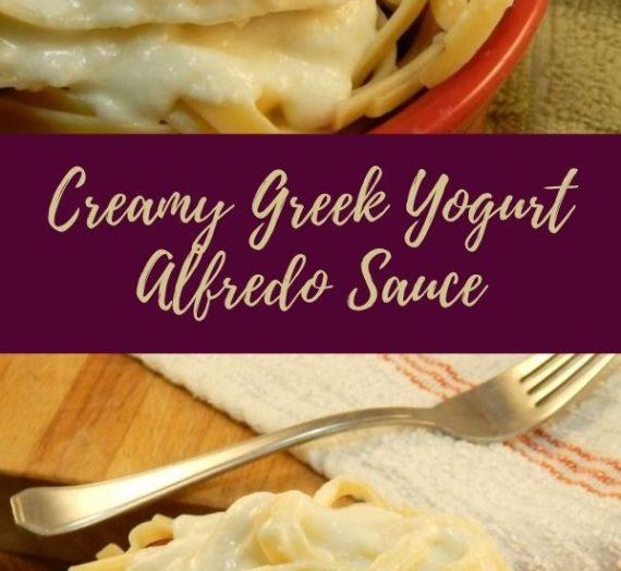 Creamy Greek Yogurt Alfredo Sauce