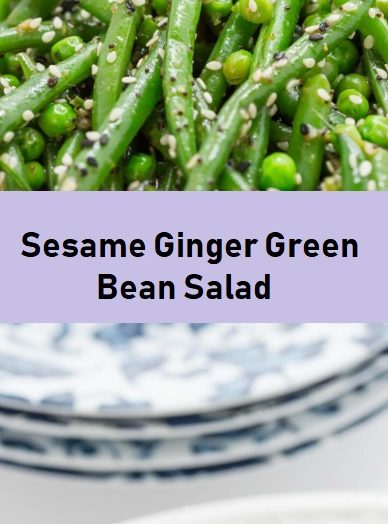 Sesame Ginger Green Bean Salad
