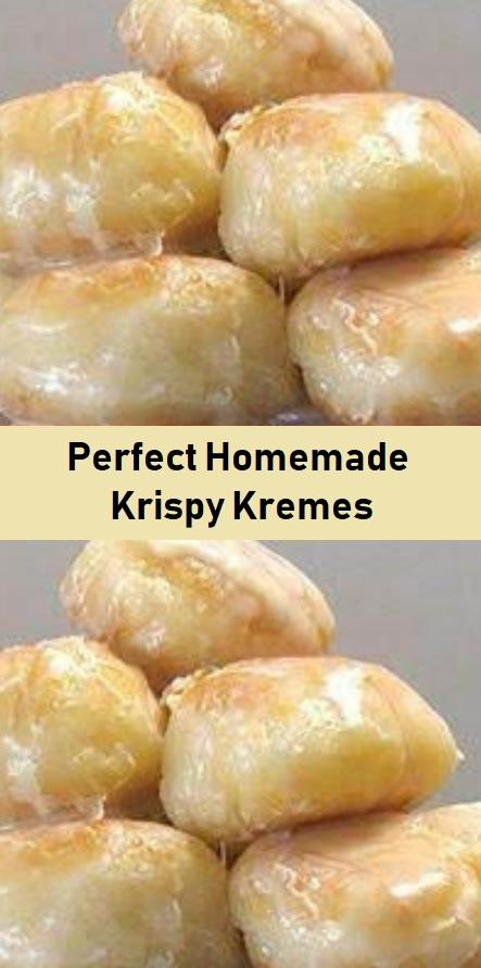 Perfect Homemade Krispy Kremes