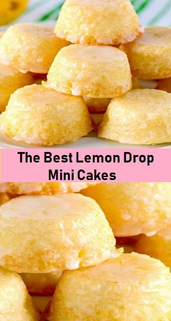 The Best Lemon Drop Mini Cakes