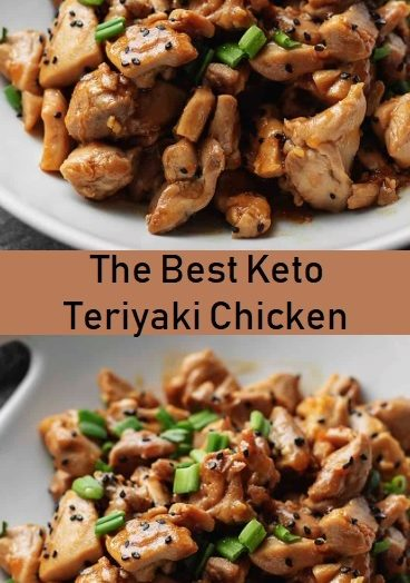 The Best Keto Teriyaki Chicken