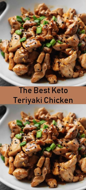 Keto Teriyaki Chicken