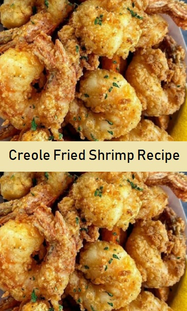 Creole Fried Shrimp Recipe