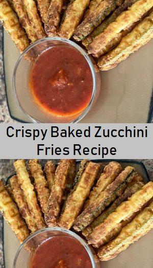 Crispy Baked Zucchini Fries Recipe