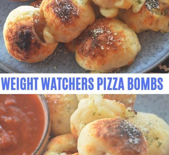 WEIGHT WATCHERS PIZZA BOMBS