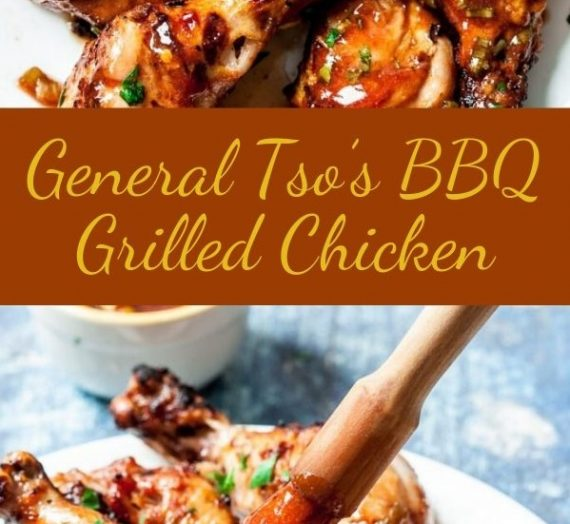 General Tso's BBQ Grilled Chicken