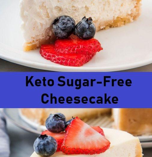 Keto Sugar-Free Cheesecake