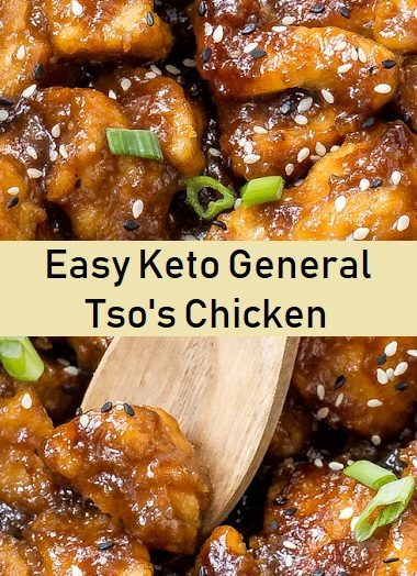 Easy Keto General Tso's Chicken