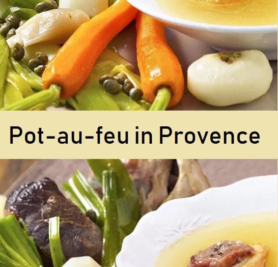 Pot-au-feu in Provence