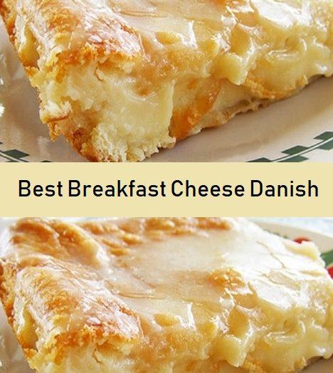 Best Breakfast Cheese Danish
